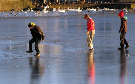 kids on thin ice